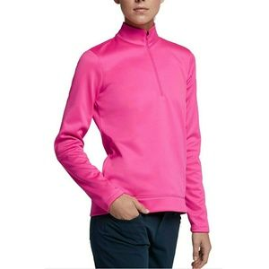 New Nike Women's Therma Golf Jacket Pink Small